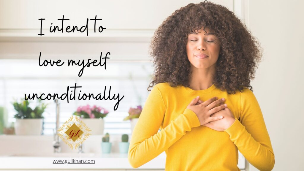 setting intentions for self-love